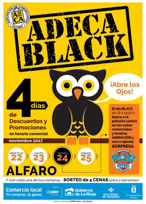 ADECA Black en Alfaro