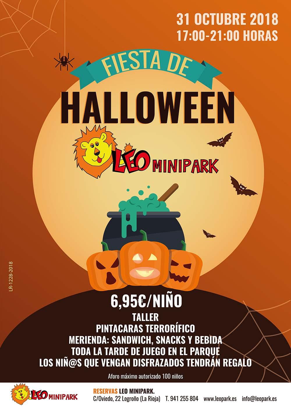 Fiesta Halloween MiniPark Leo