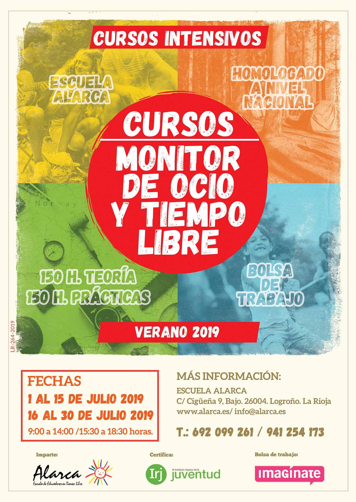 curso de Monitor de Ocio y Tiempo Libre 2019